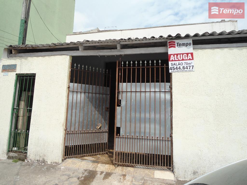 Salão comercial para locação, Vila Magini, Mauá.