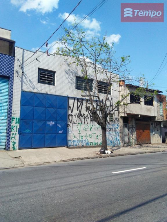 Galpão comercial para locação, Capuava, Mauá - GA0004.