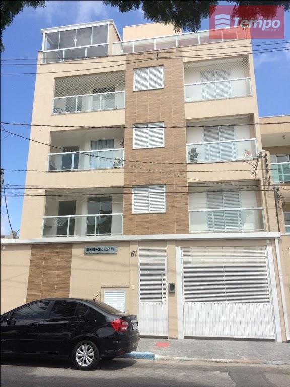 Apartamento residencial para locação, Vila Noêmia, Mauá.