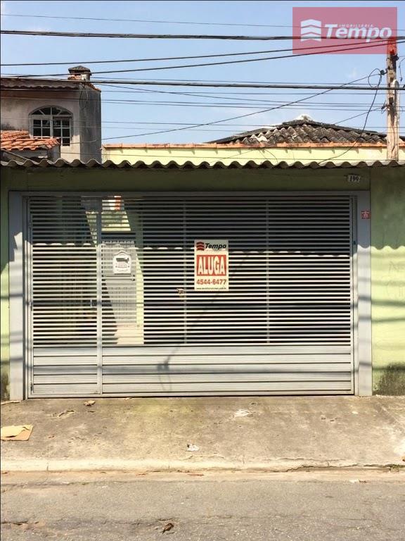 Casa para locação no Parque São Vicente - Mauá, 2 dormitórios
