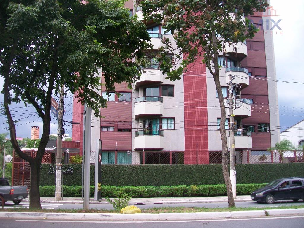 Apartamento 115m², 3 dorms sendo 1 suíte - Edifício Maison Danielle - Centro, Guarulhos.