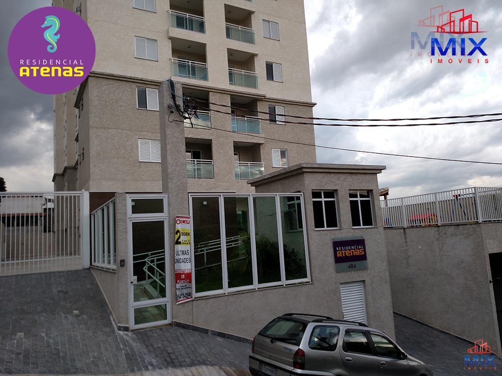 Apartamento Guarulhos - 2 dorms. (1 suíte) - 1 vaga - 57m2 - Residencial Atenas Guarulhos