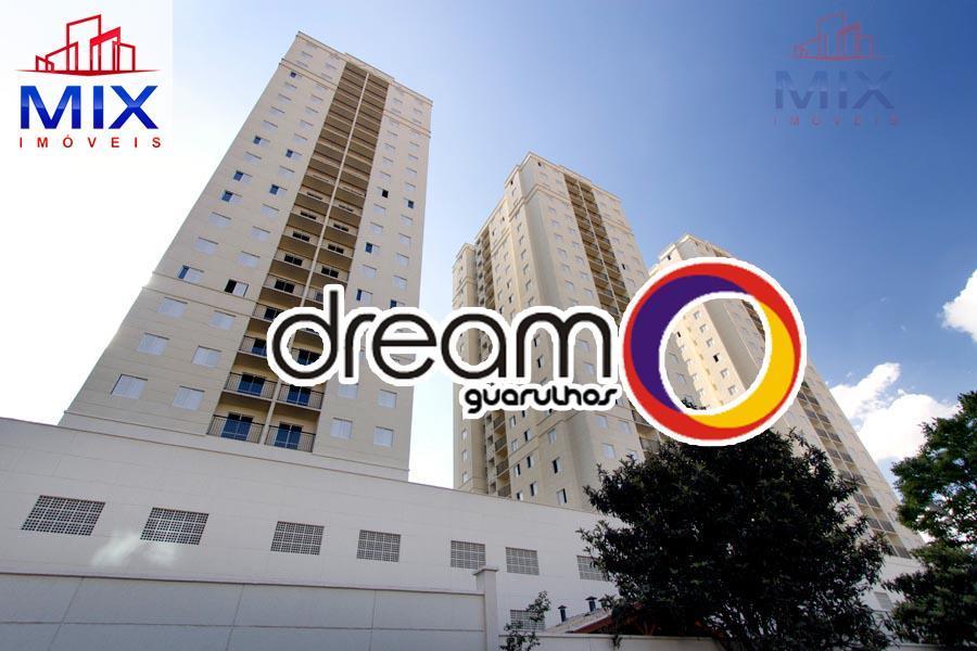Apartamento Dream Guarulhos, Gopoúva - 3 Dorms. (1 suíte) - 64m2 - 2 vagas