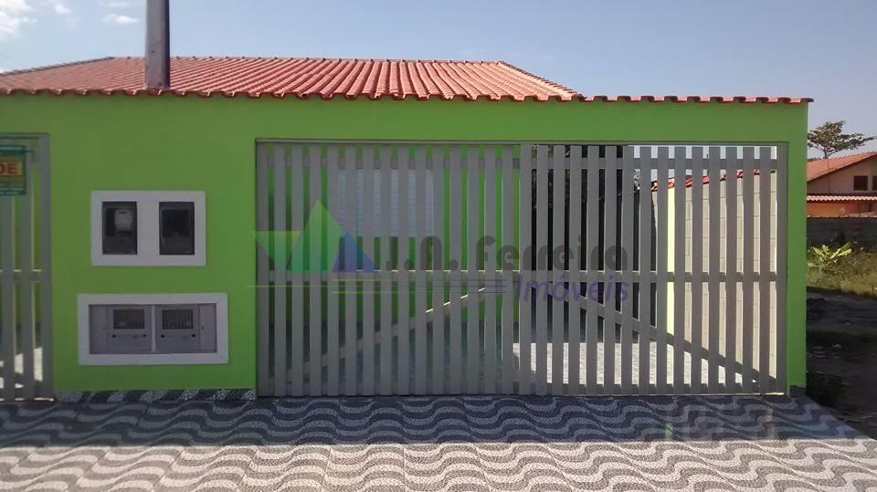 Casa nova, aceita financiamento, Mongaguá.