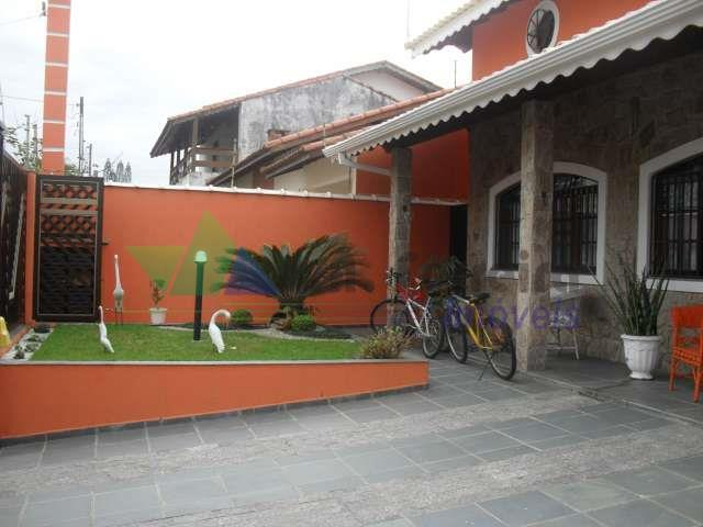 Sobrado residencial à venda, Jardim Imperador, Peruíbe.