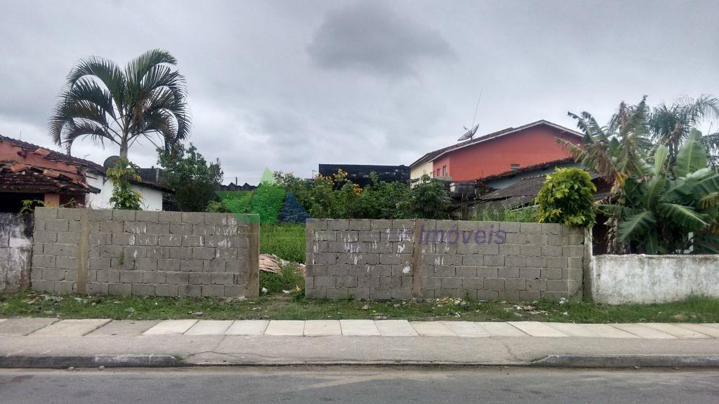 Terreno inteiro em avenida asfaltada, Mongaguá, Escritura definitiva.