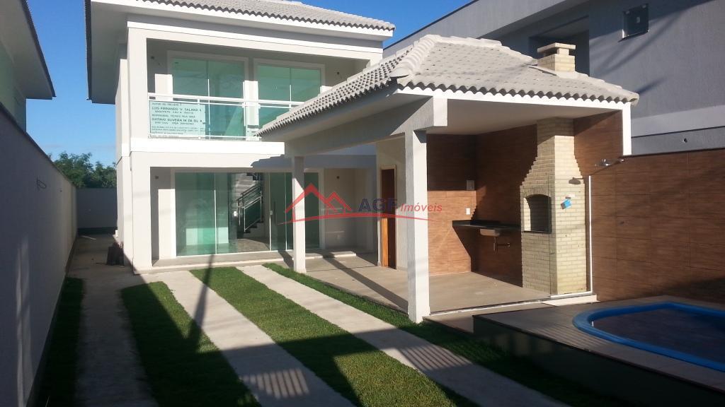 Casa 1° locação 04 suítes piscina e churrasqueira em condomínio