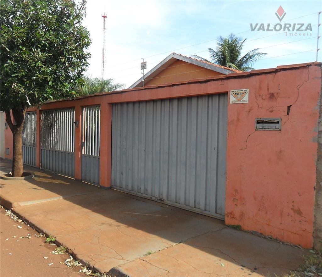 Casa  residencial à venda, Pecuária, Quirinópolis.