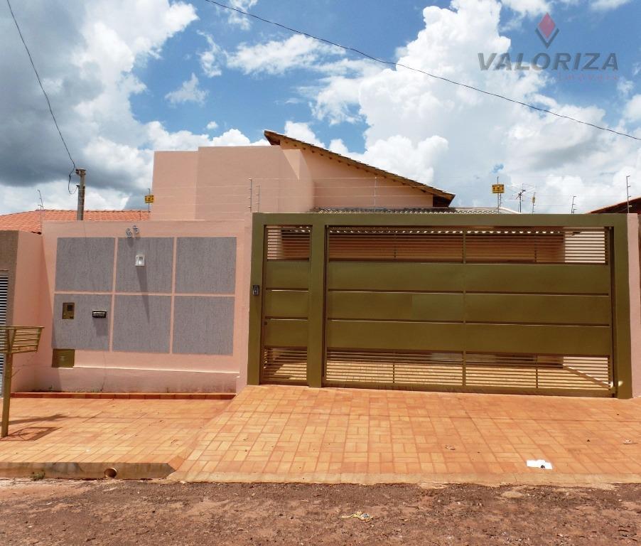 Casa com 3 dormitórios à venda - Jardim Vitória - Quirinópolis/GO
