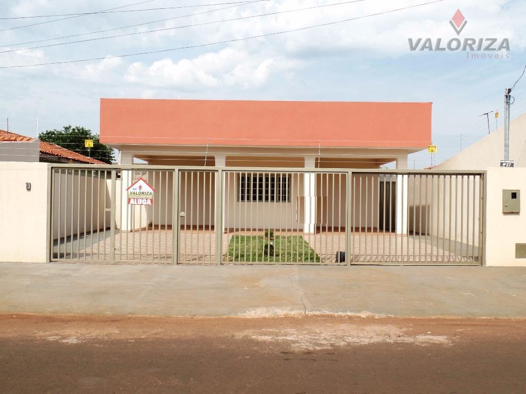 Casa  residencial para locação, Primavera, Quirinópolis.