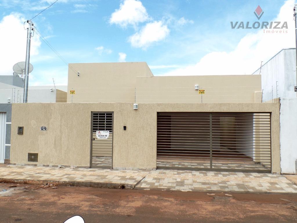 Casa  residencial para locação, Jardim Vitória, Quirinópolis.