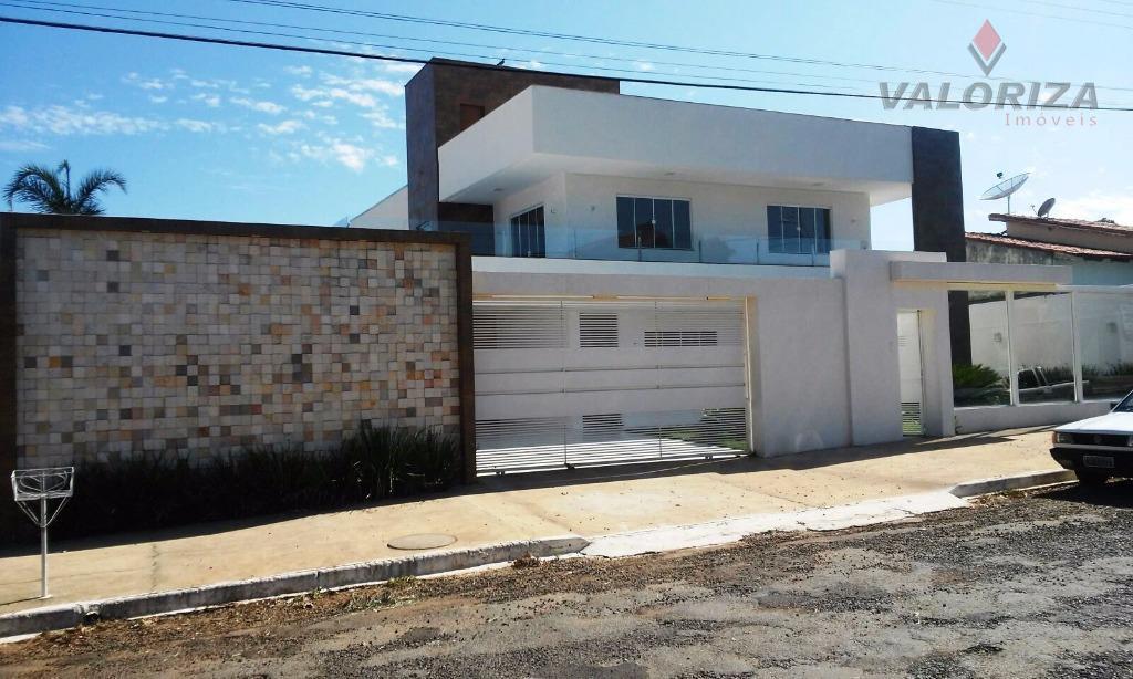 Sobrado residencial à venda, Itanhangá I, Caldas Novas - SO0006.