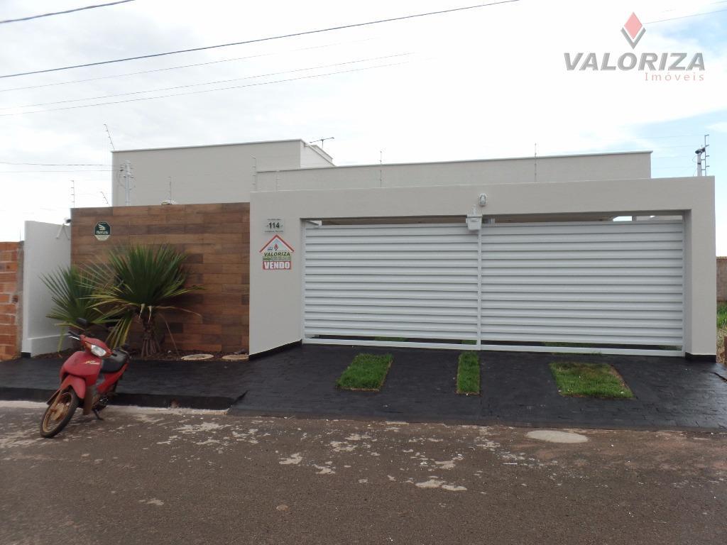 Casa residencial à venda, Morumbi, Quirinópolis - CA0258.