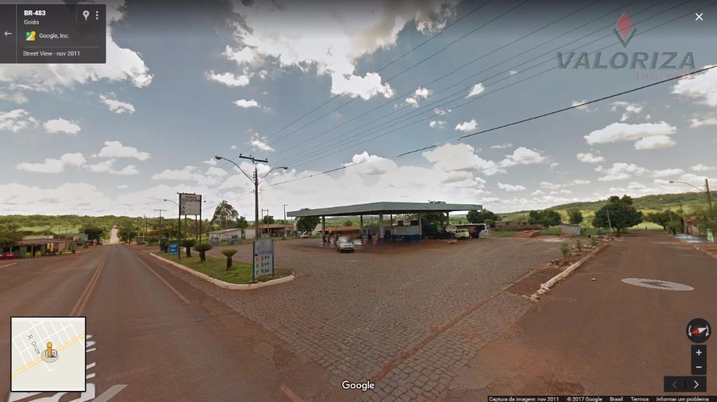 Posto de Combustível à Venda, Cachoeira Dourada, Go. (Povoado de Nilópolis)