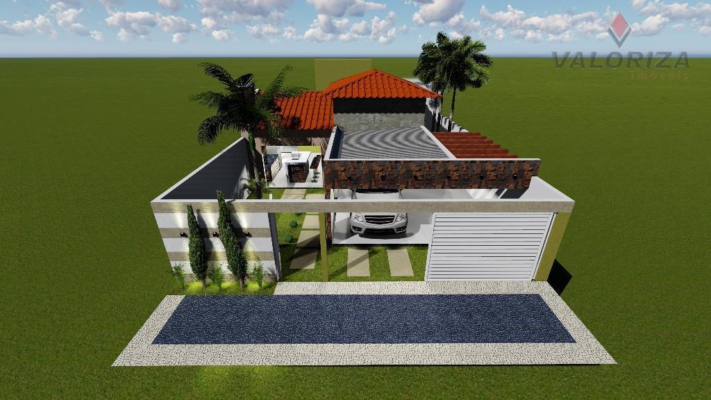 Projeto casa residencial à venda, Primavera, Quirinópolis.