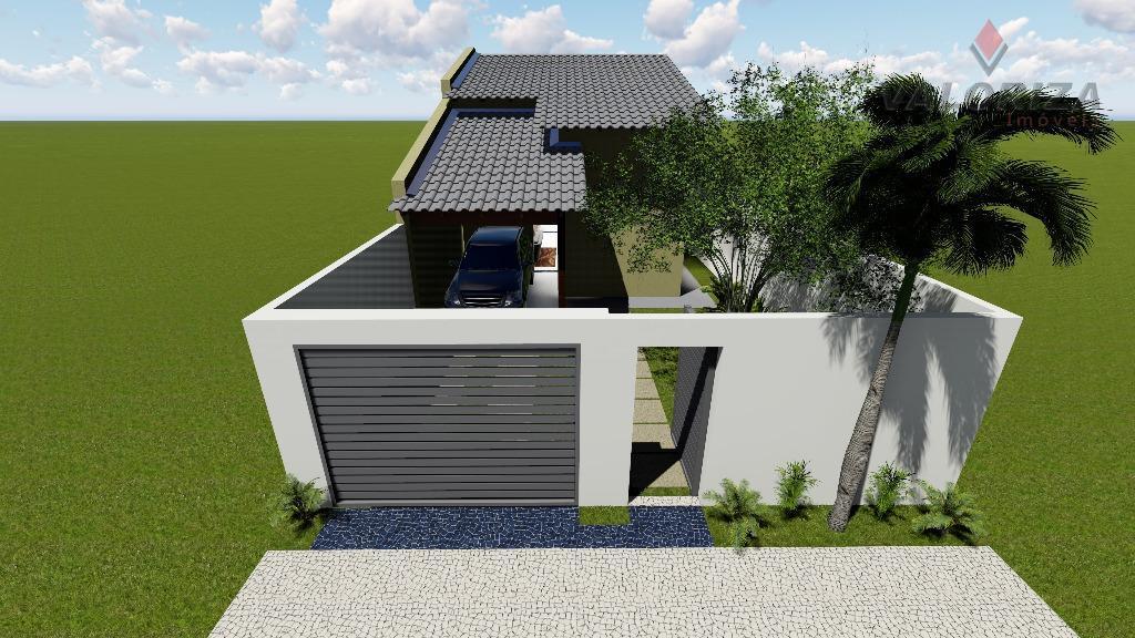 Casa residencial na Planta à venda, Loteamento Portal do Lago, Quirinópolis.