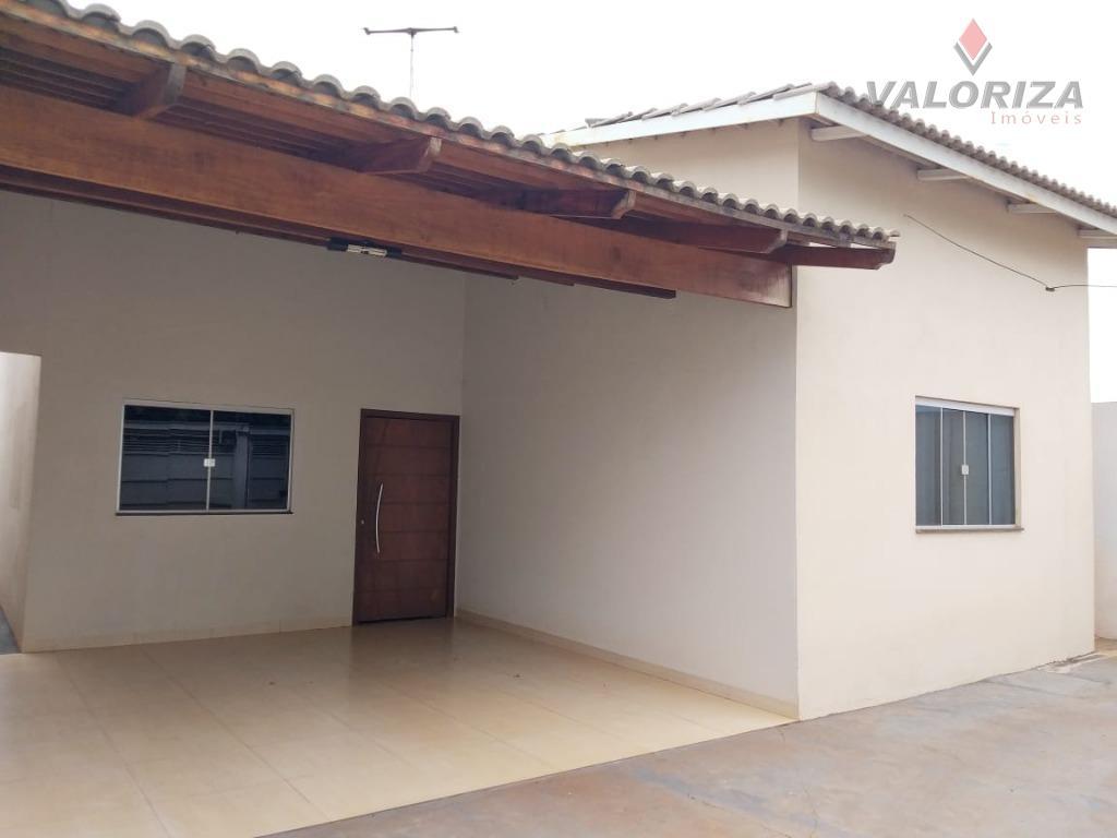 Casa com 3 dormitórios à venda, 119 m² por R$ 175.000 - Jardim Vitória - Quirinópolis/GO