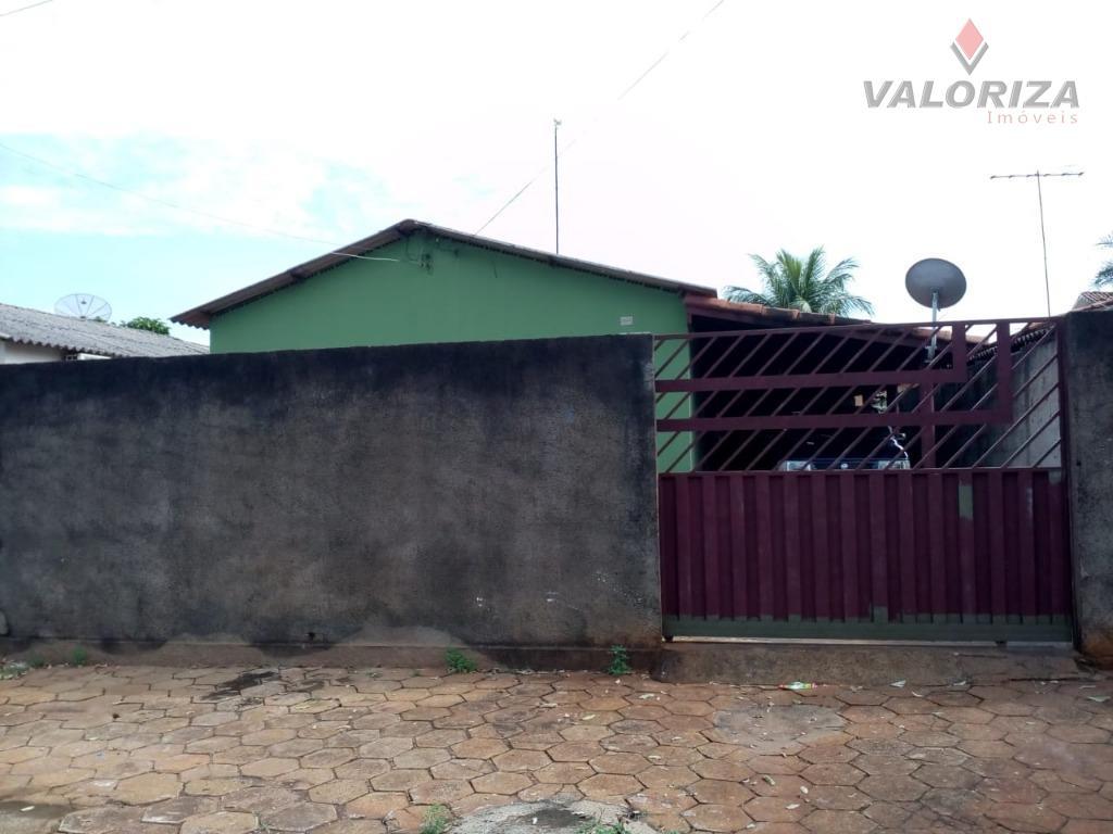 Casa com 3 dormitórios à venda, 108 m² por R$ 140.000 - Conjunto Rio Preto - Quirinópolis/GO