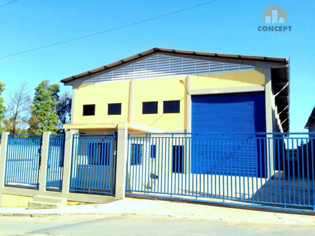 Galpão industrial para locação, Chácara Primavera, Suzano.