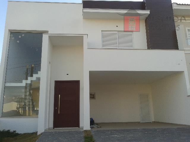Sobrado residencial à venda, Condomínio Vila Azul, Sorocaba.