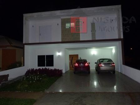 Sobrado residencial à venda, Condomínio Portobello, Sorocaba.