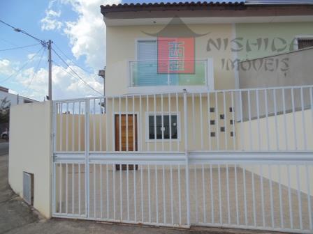 Sobrado residencial à venda, Jardim Itália, Sorocaba - SO0174.