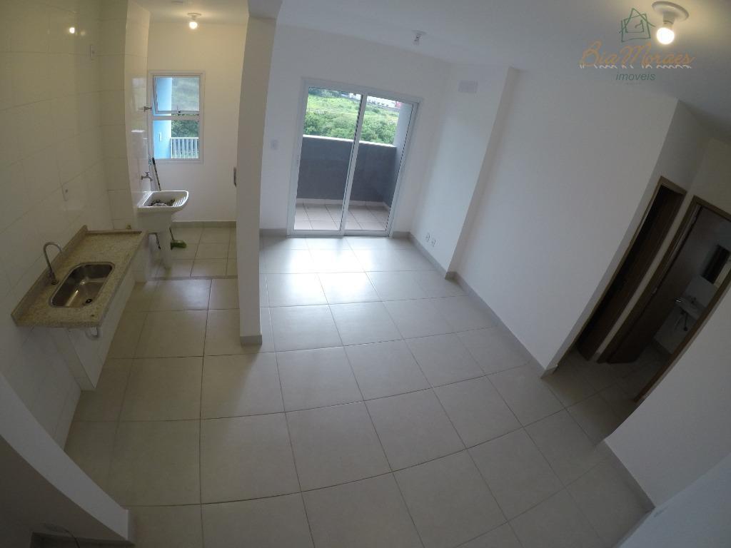 Apartamento com 1 dormitório à venda, 43 m² por R$ 175.000 - Jardim Capitólio - Leme/SP