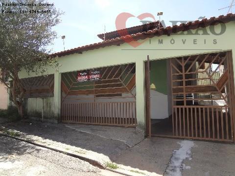 Casa residencial para venda e locação, Vila Lavínia, Mogi das Cruzes - CA0307.