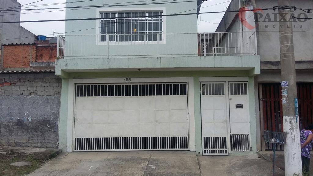 Sobrado  residencial à venda, Jardim Rosana, Ferraz de Vasconcelos.