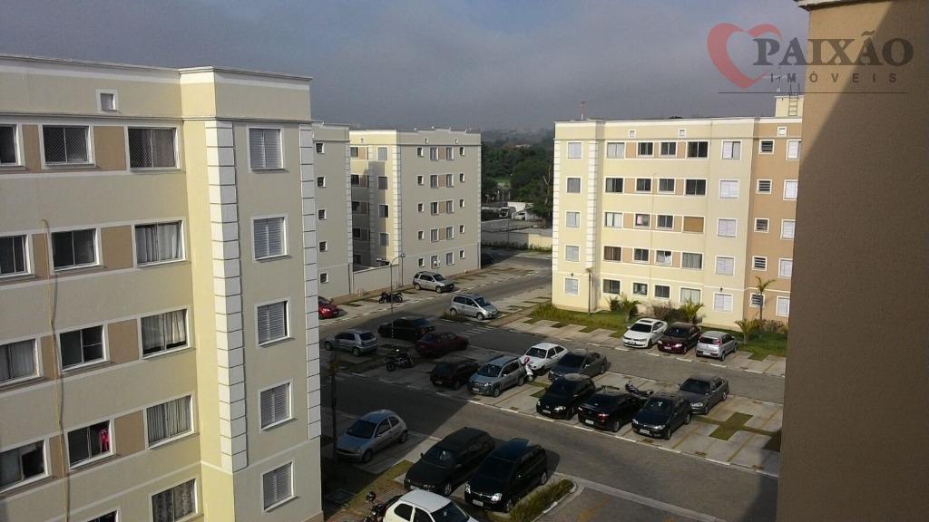 Apartamento  residencial para locação, Parque Santa Rosa, Suzano.