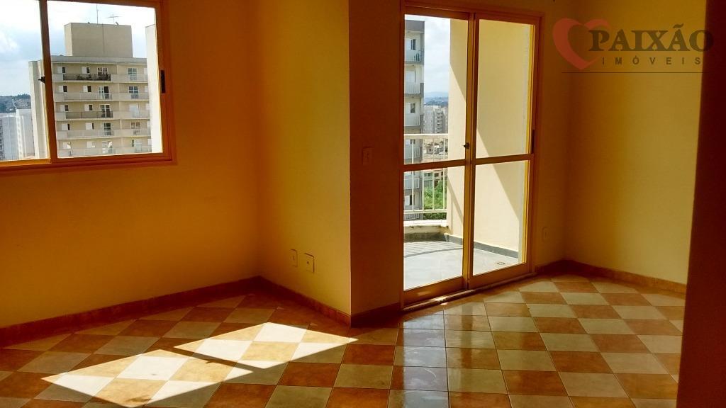 Apartamento  residencial para locação, Jardim São Luís, Suzano.