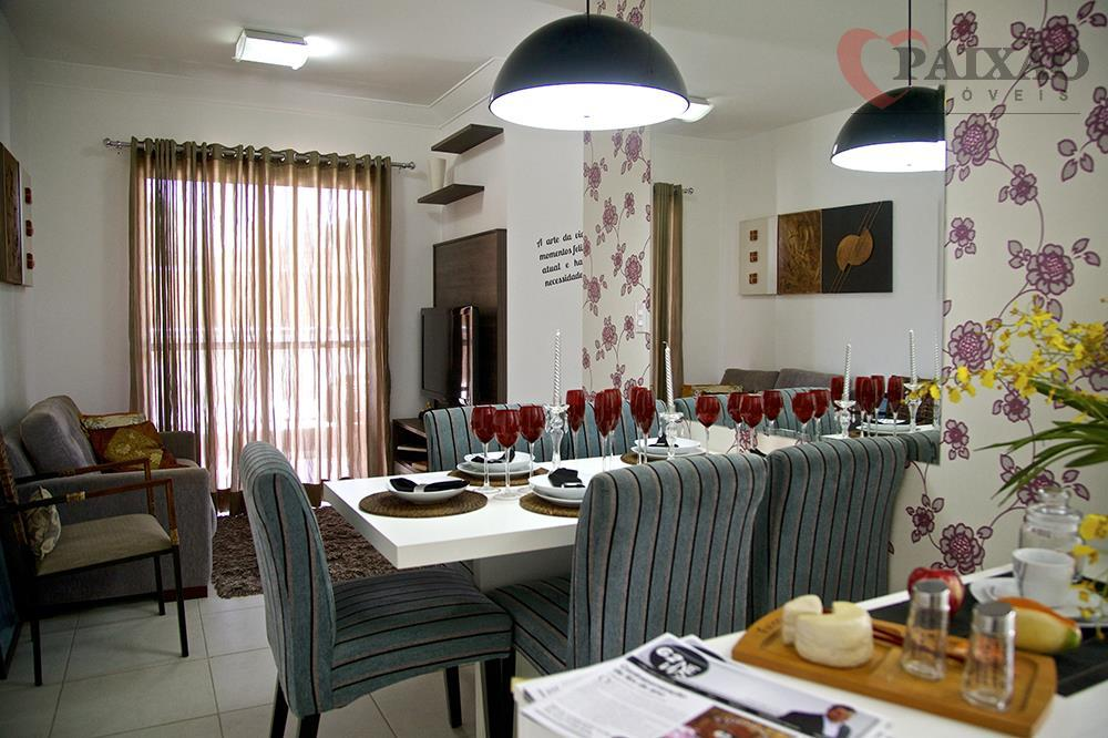 Apartamento  residencial à venda, Jardim Imperador, Suzano.