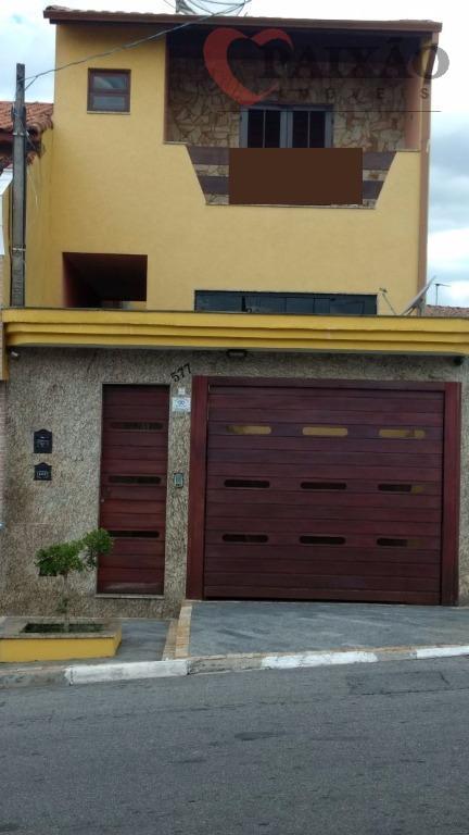Sobrado residencial à venda, Vila Santa Helena, Poá.
