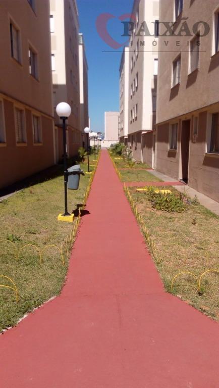 Apartamento residencial Residencial Lisboa para locação, Vila Urupês, Suzano - AP0468.