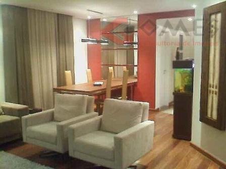 Apartamento residencial à venda, Vila Caminho do Mar, São Bernardo do Campo.