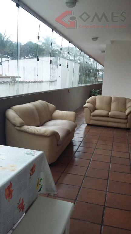 Apartamento  residencial para venda e locação, Enseada, Guarujá.