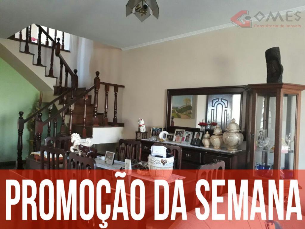Sobrado residencial à venda, Paulicéia, São Bernardo do Campo - SO0052.