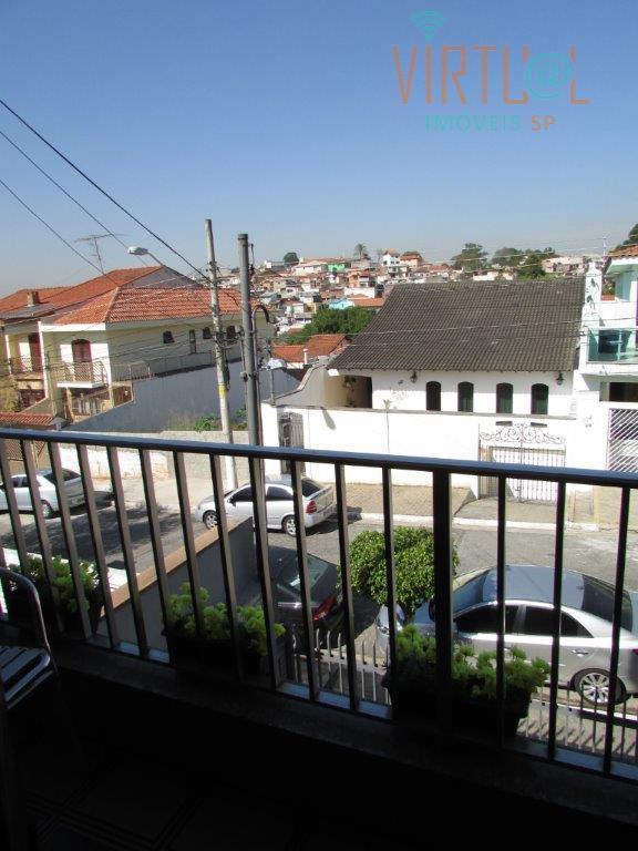 Sobrado residencial à venda, City Pinheirinho, São Paulo.