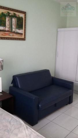 Sala living mobiliado no Boqueirão