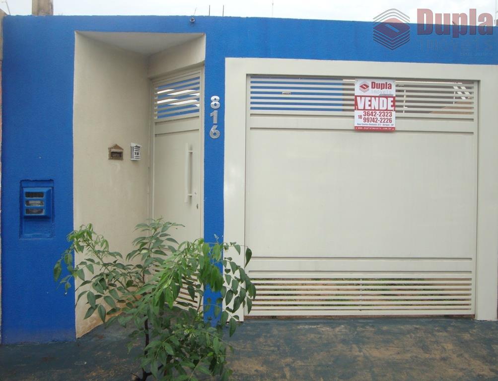 Casa residencial à venda no Bairro Residencial Manuela em Birigüi/SP