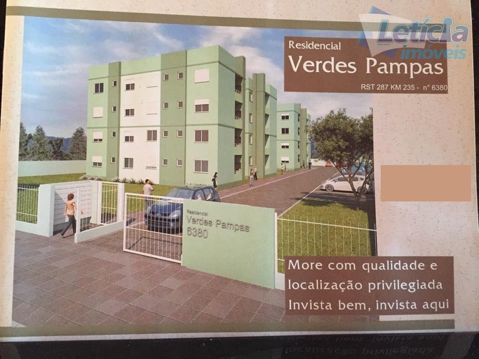 Apartamento residencial à venda, Cerrito, Santa Maria.