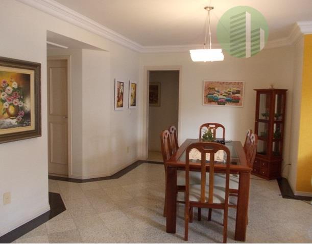 amplo apartamento 4 quartos + 4 vagas + dependência | centro florianópolis