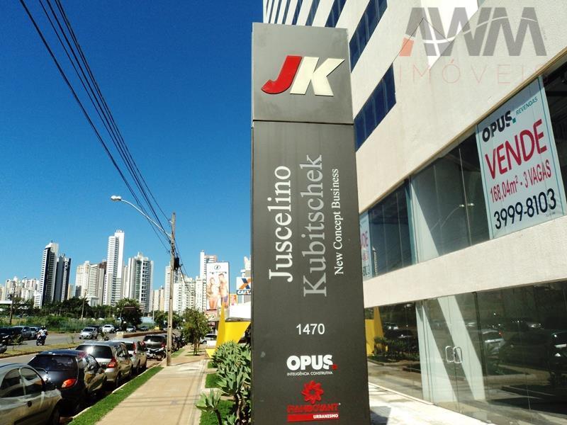edifício jk new concept business - jardim goiásperfeita localização na avenida e, próximo ao shopping flamboyantsala...