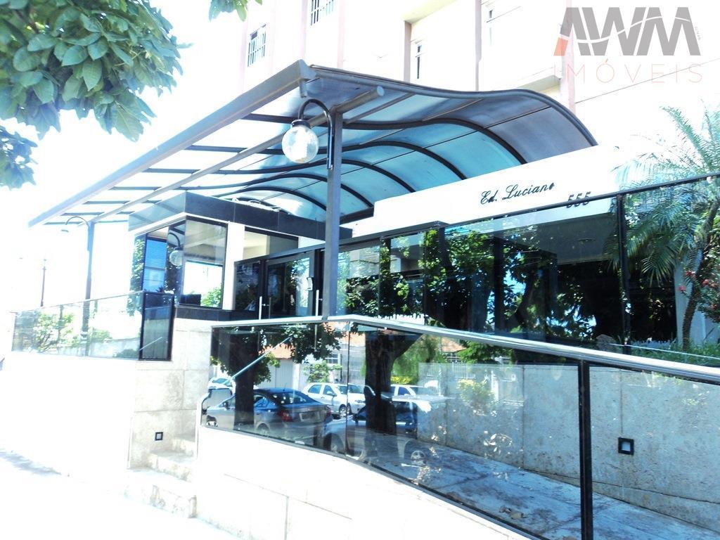 residencial luciano - setor aeroportoapartamento com 113 m²são 3 quartos sendo uma suíte, sala ampla para...