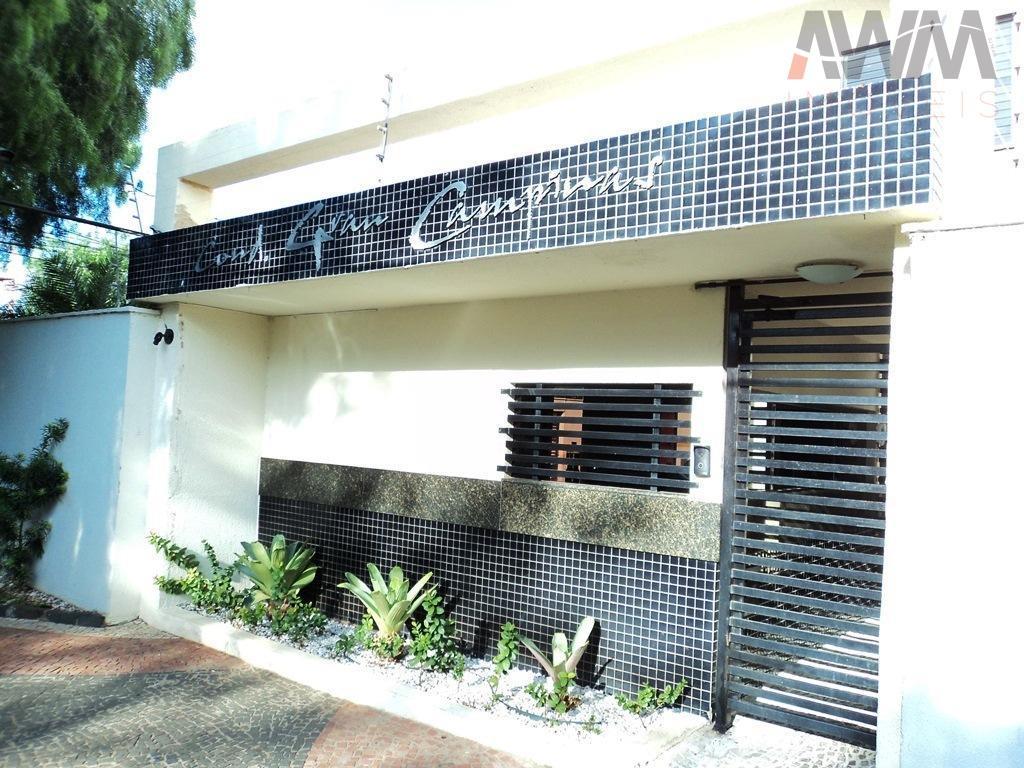 condomínio gran campinas - setor dos funcionáriosapartamento com 79 m²são 3 quartos sendo 1 suíte, sala...