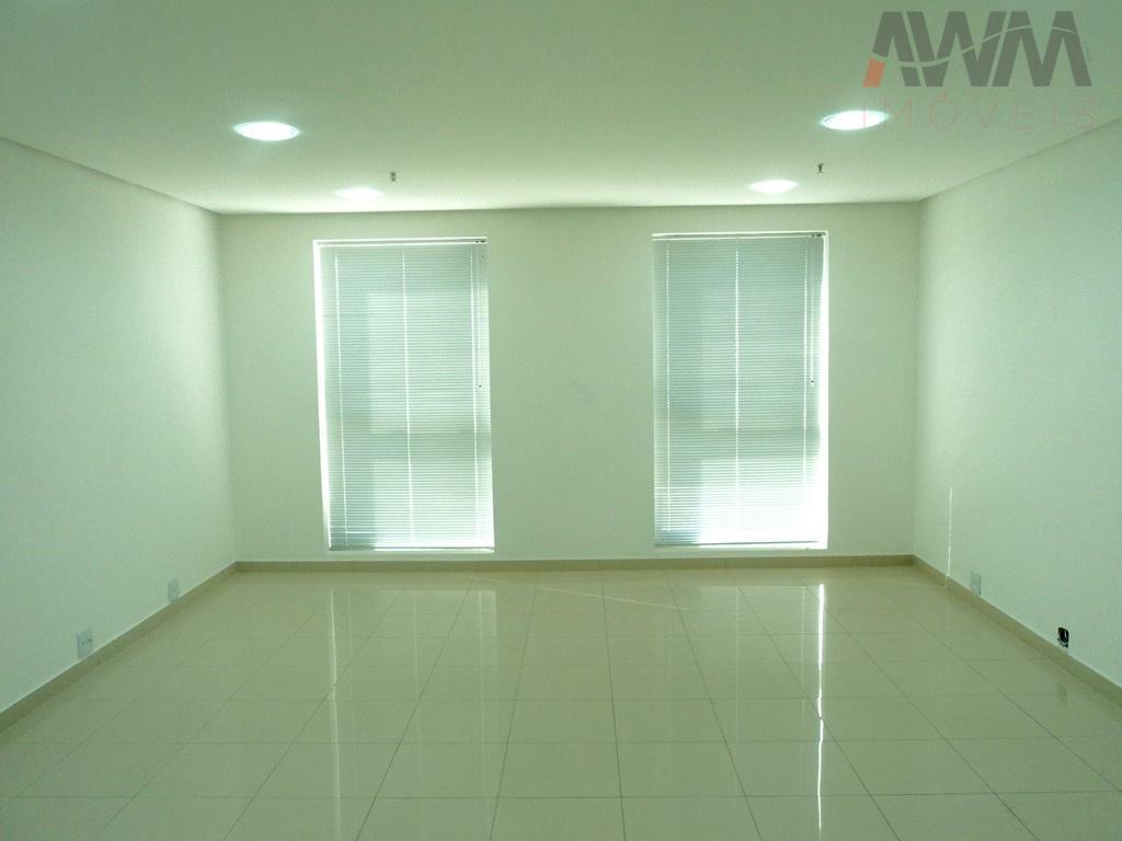 aton business style - setor oeste sala com 35 m²sala pronta para usopiso porcelanato, iluminação e...