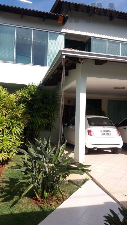 Sobrado residencial à venda, Jardim América, Goiânia.
