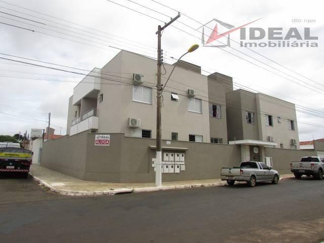 Apartamento residencial para locação, Mineirinho, Mineiros.