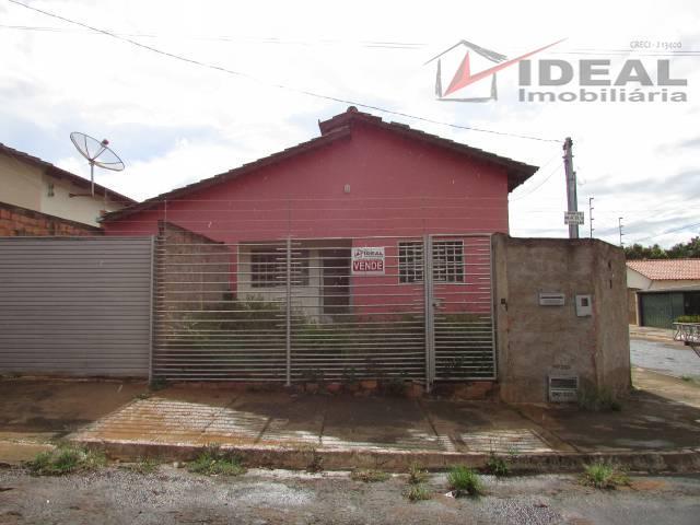 Casa residencial para venda  Popular, Mineiros - CA0290.