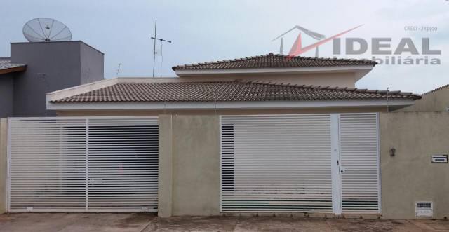 Casa residencial à venda, Residencial Vilhena, Mineiros.